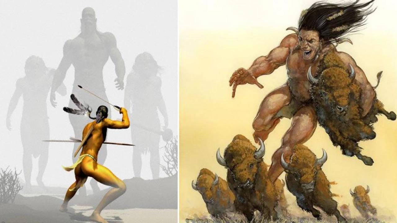 Gigantes: la raza que existió antes de los humanos. Relatos de todo el mundo (Vídeo)