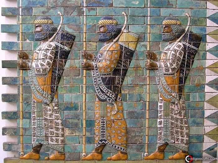 Los Inmortales: guerreros persas de élite y el mito de que «no podían morir»