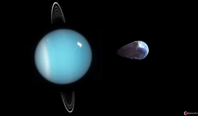 Algo ha escapado de la atmósfera de Urano hacia el espacio, revelan científicos