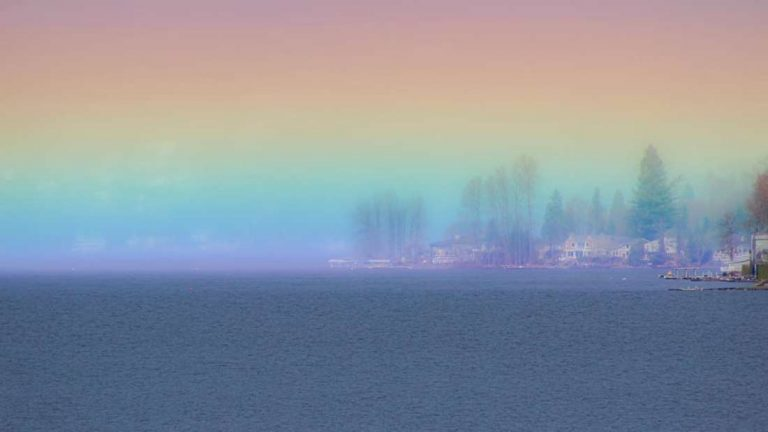 Un «arco iris horizontal» aparece en el cielo de EE.UU. ¿una señal de esperanza?
