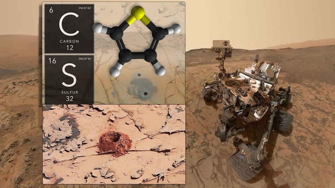 Científicos: Curiosity ha encontrado evidencia de vida antigua en Marte