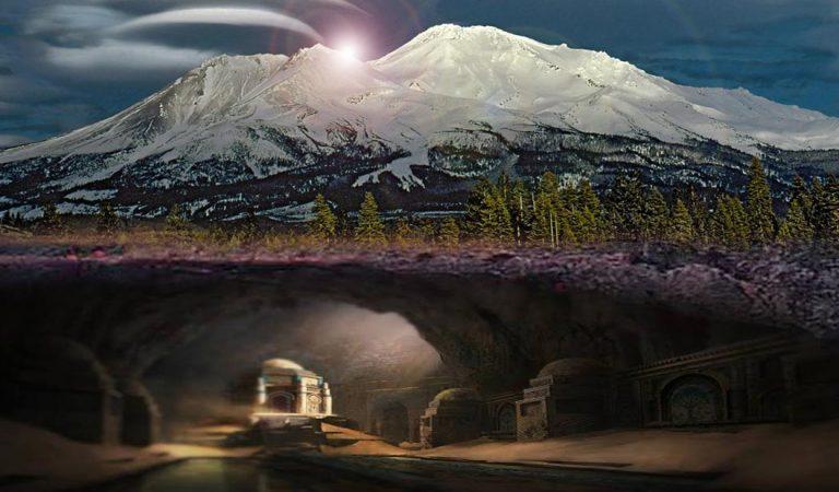 Una ciudad intraterrena se ocultaría en el Monte Shasta