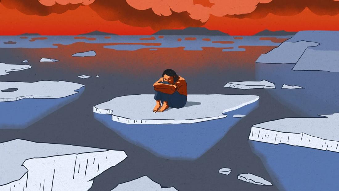 La depresión por el cambio climático está causando que algunas personas renuncien a vivir