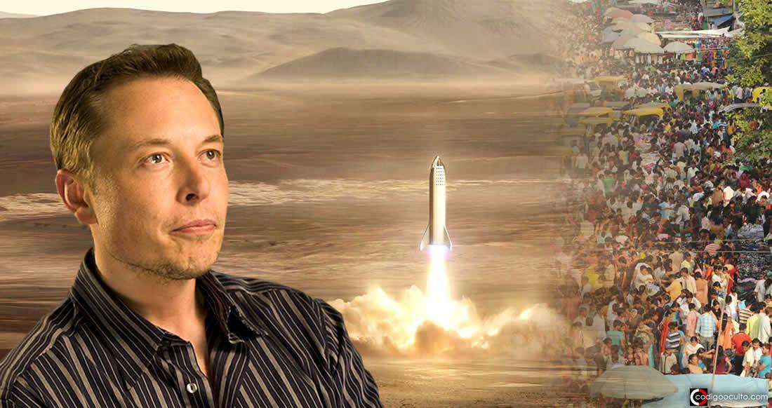 Elon Musk: «Llevaré a la gente a Marte antes de morir»