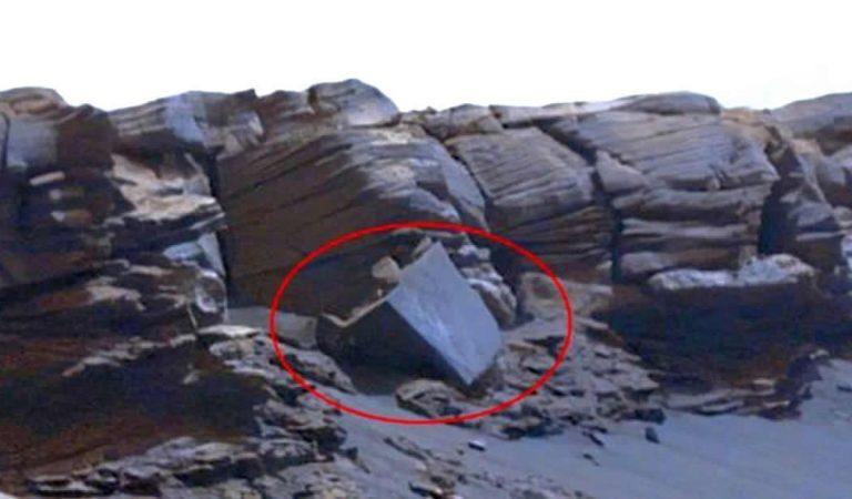 Fotografía de Curiosity revela insólita «maquinaria antigua» en Marte