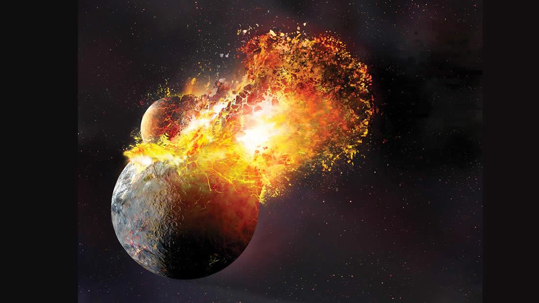 Fragmento de un planeta desconocido fue hallado en lo más profundo de la Luna