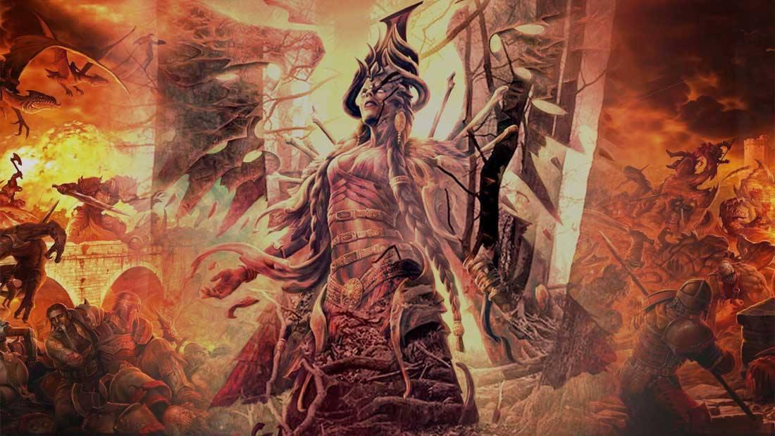 Inanna, la diosa sumeria y su descenso al Inframundo