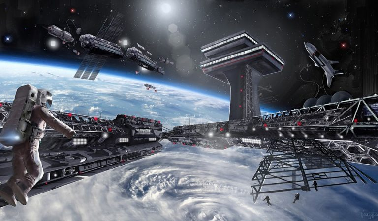 Millonarios planean construir colonias espaciales para escapar del fin del mundo