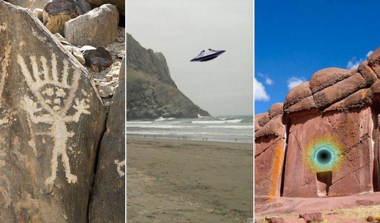 Misterios de Perú: entre geoglifos antropomorfos, bases alienígenas y portales estelares (Vídeo)
