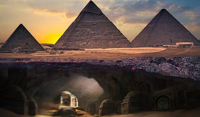 Mundo subterráneo de casi 6 kilómetros de largo bajo las Pirámides de Egipto