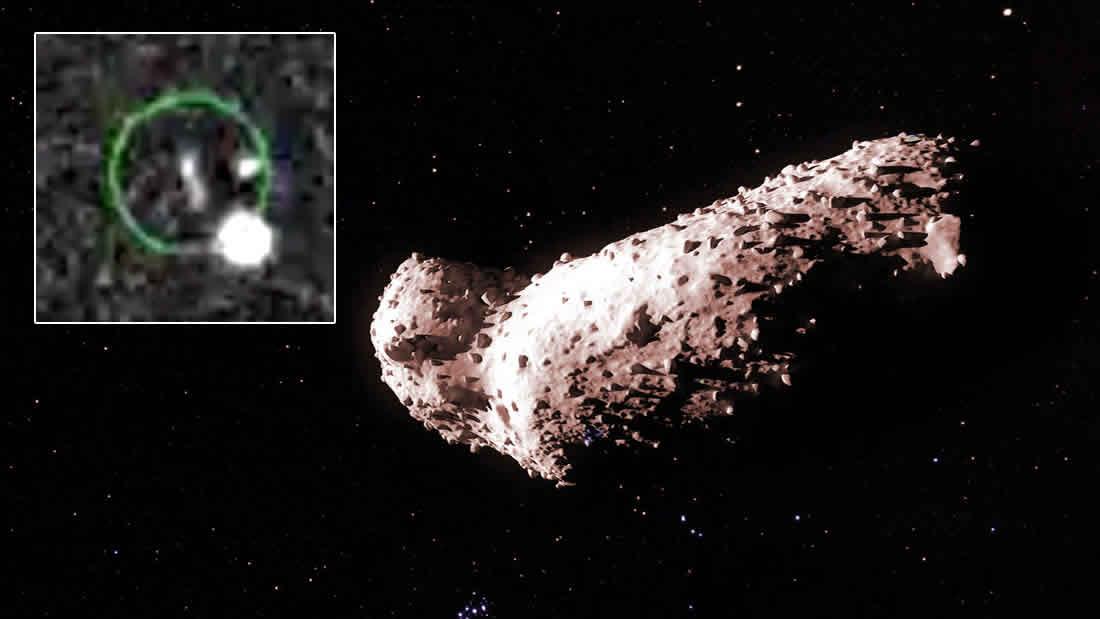 Objeto espacial ha ingresado en la órbita de la Tierra