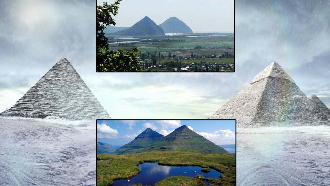 ¿Pirámides rusas? Sestra y Brat: misteriosos «picos gemelos» de posible origen artificial antiguo