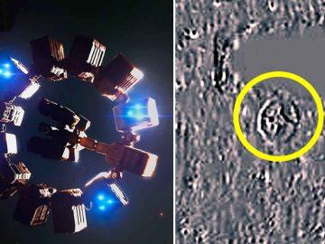 Sonda SOHO capta una gigantesca «nave alienígena» viajando por el Sistema Solar, afirma investigador