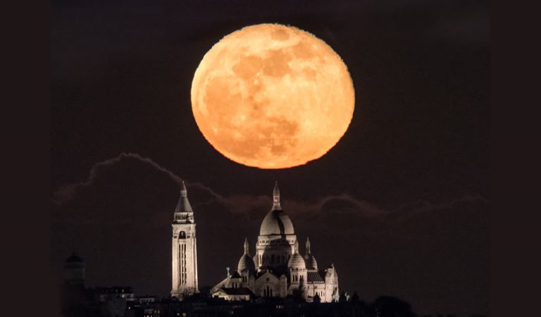 Superluna iluminará el cielo este lunes por segunda vez en el año