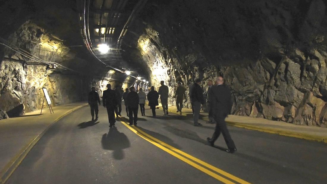 Trasladan al «búnker más seguro del mundo» (en las montañas) a parte del Comando Norte de EE.UU. por temor a la pandemia