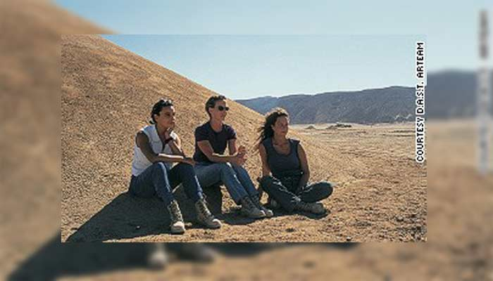 Aliento del Desierto: misteriosa instalación que «emerge» del Desierto del Sahara