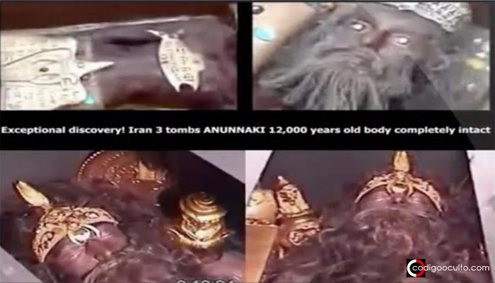 ¿Es este el cuerpo de un Rey Anunnaki de 12.000 años y completamente intacto en animación suspendida?