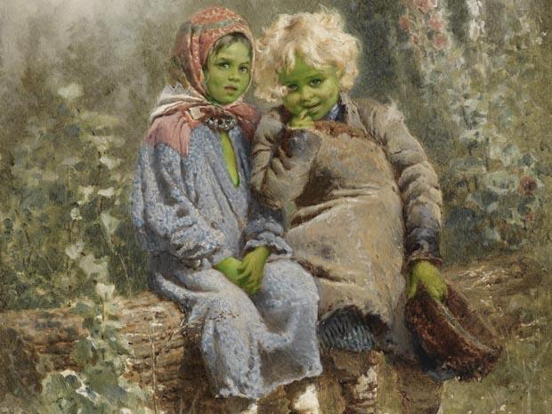 La insólita historia de los «Niños Verdes» de Woolpit, Inglaterra