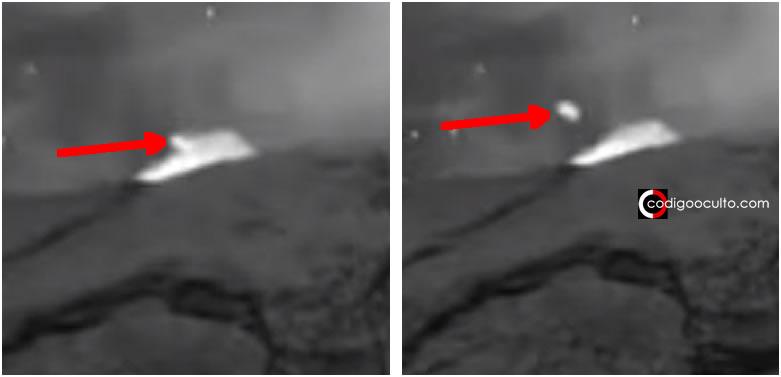 Objeto desconocido luminoso «sale» del volcán activo Popocatépetl (Vídeo)