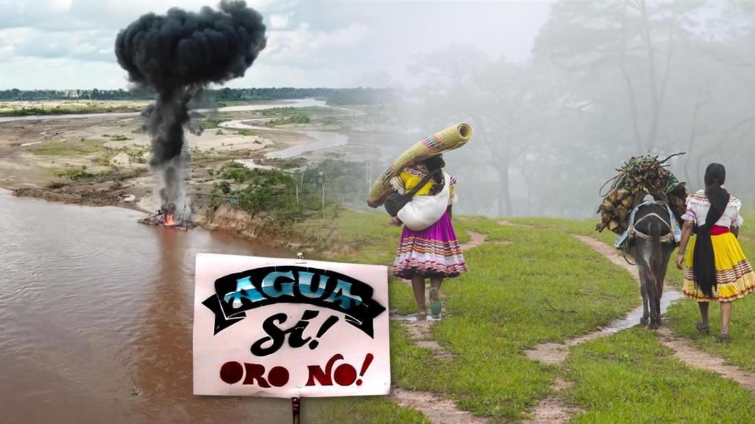 ¡El Agua y la Tierra son más valiosos que el oro! La eterna lucha de las comunidades nativas