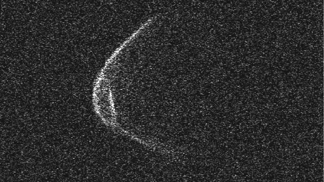 Astrónomos fotografían «de cerca» el asteroide del 29 de abril