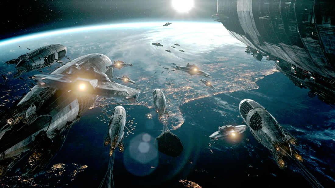 Cientos de «naves» en dirección a la Tierra ¿Liberación o Invasión? (Vídeo)