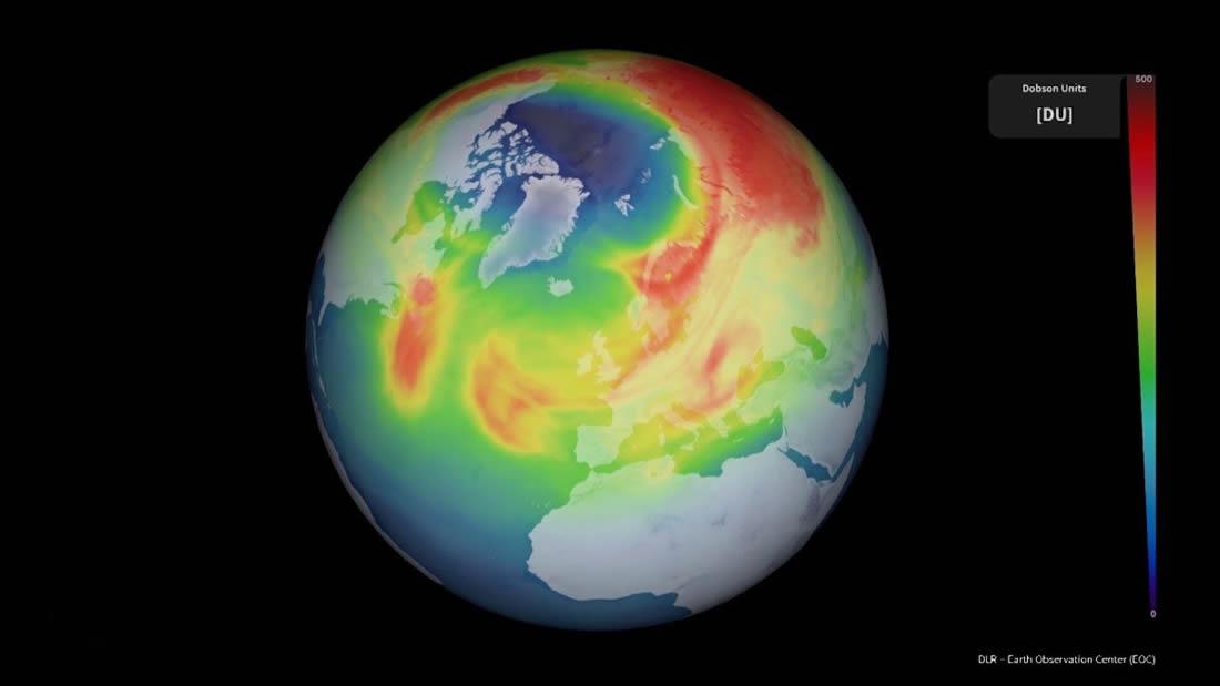 Confirman cierre del agujero más grande de la capa de ozono en el Ártico