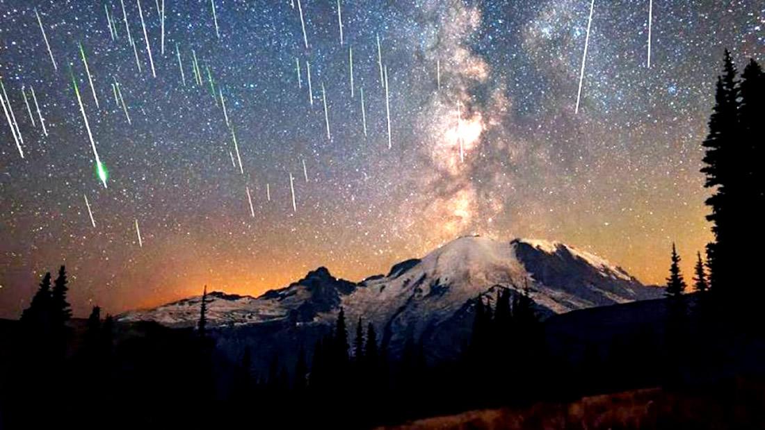 Desde hoy: lluvia de meteoros Líridas invaden los cielos