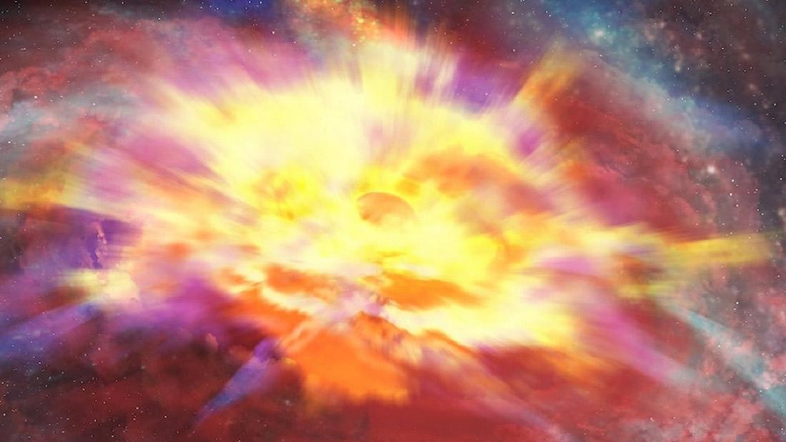 Detectan la tormenta cósmica más fuerte ocurrida en el universo conocido