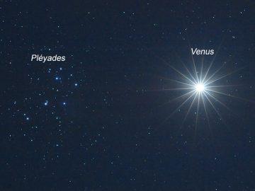 Este jueves 2 de abril: Venus y Las Pléyades juntos en el cielo