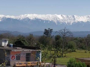 Logran ver y fotografiar el Himalaya desde 230 km debido a la disminución de la contaminación