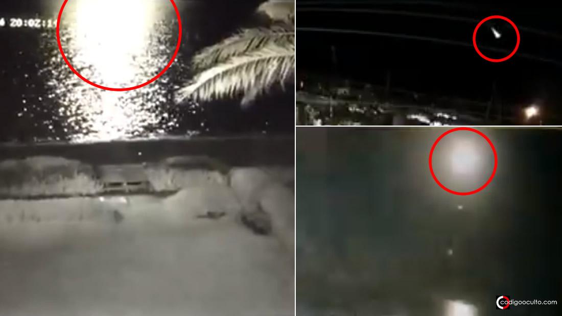 Meteorito o bólido causa temor en residentes en Perú (Vídeos)