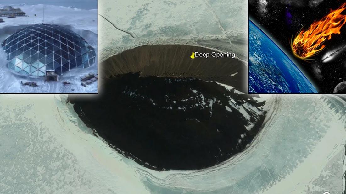 Misteriosa «anomalía» enterrada en la Antártida enfrenta a ufólogos y científicos