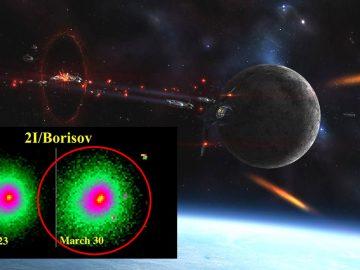 Objeto interestelar que se acercó al sistema solar se parte en dos y expulsa un «fragmento»