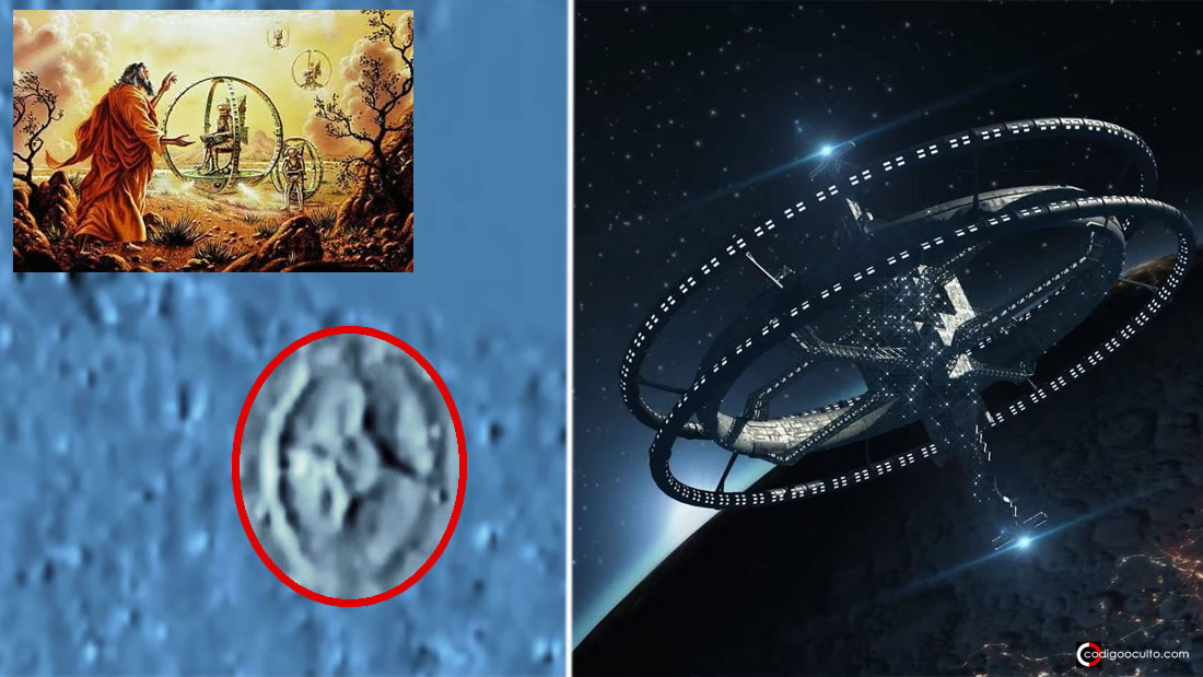 Objeto tipo «Rueda de Ezequiel» aparece en transmisión de NASA. Esto es lo que dice la agencia