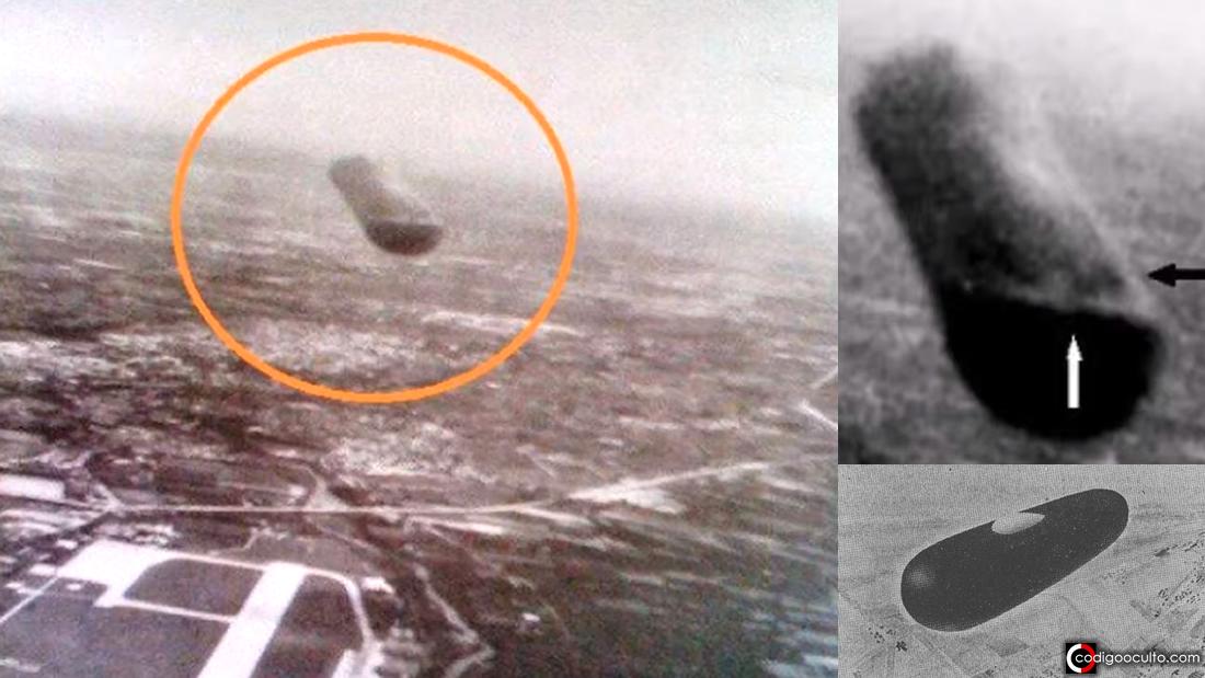 Piloto militar fotografió un OVNI cigarro sobre Italia a pocos metros de distancia