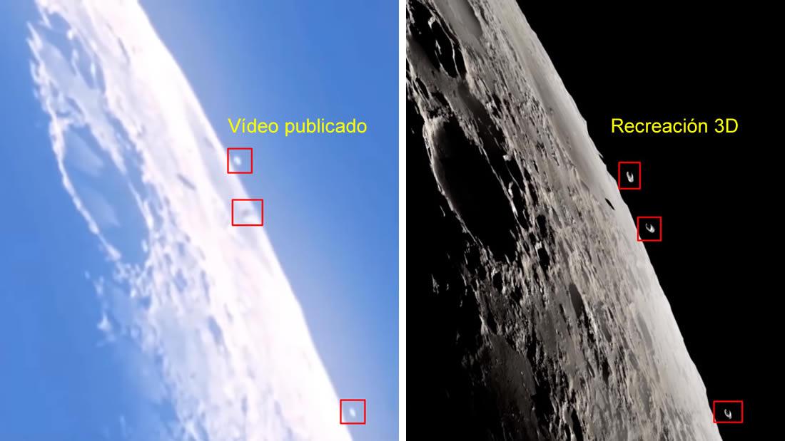 Revelan cómo se creó el FALSO VÍDEO de OVNIs en la Luna ¡Fin del misterio!