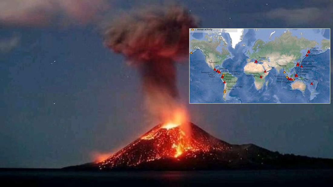 Varios volcanes se han activado en el mundo ¿Qué está pasando?
