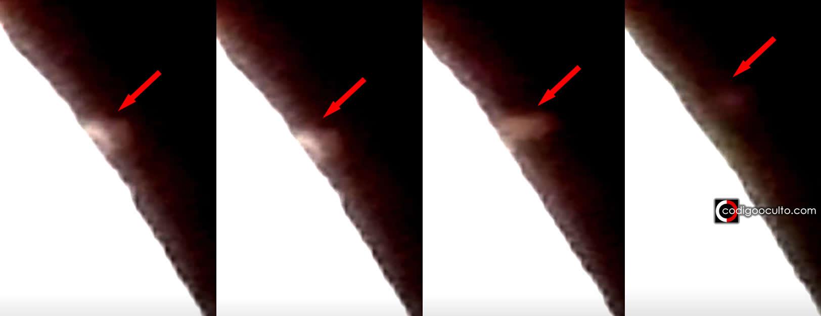 Algo ENORME es grabado «despegando» desde la Luna