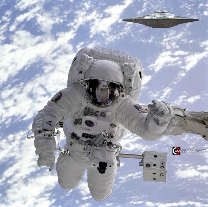 Astronauta REVELA que se encontró con decenas de OVNIs durante su misión espacial