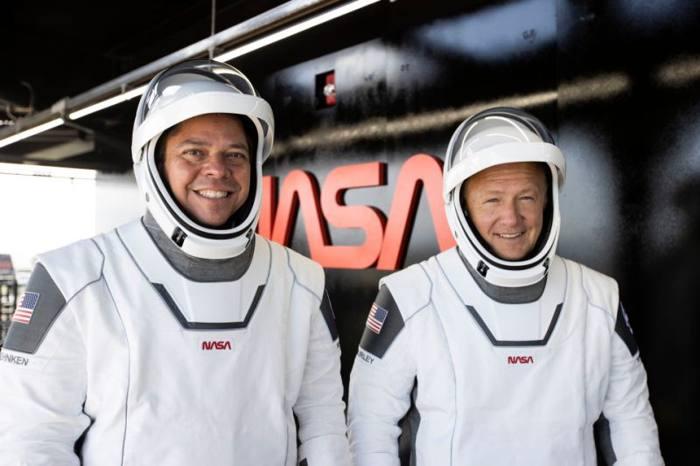 Dos astronautas han salido de la Tierra rumbo a la Estación Espacial Internacional