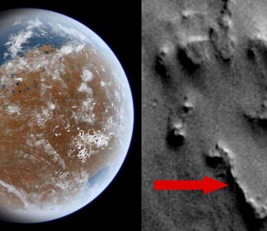 ¿Es esto una antigua ciudad descubierta en Marte?