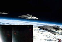 Estación Espacial captura la «Evacuación Masiva de OVNIs» desde la Tierra