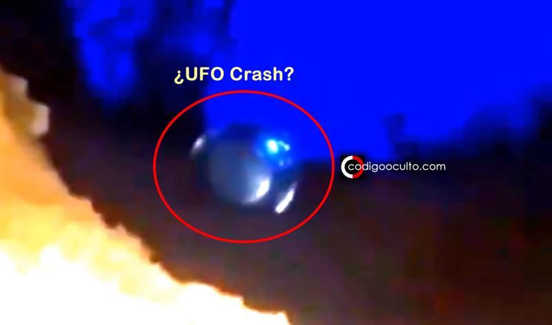 ¿Ha caído un OVNI en Brasil?