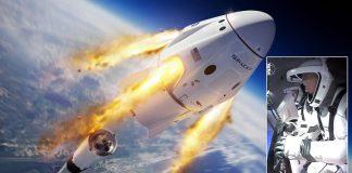 Mira EN VIVO el lanzamiento de nave espacial Crew Dragon con dos astronautas a bordo