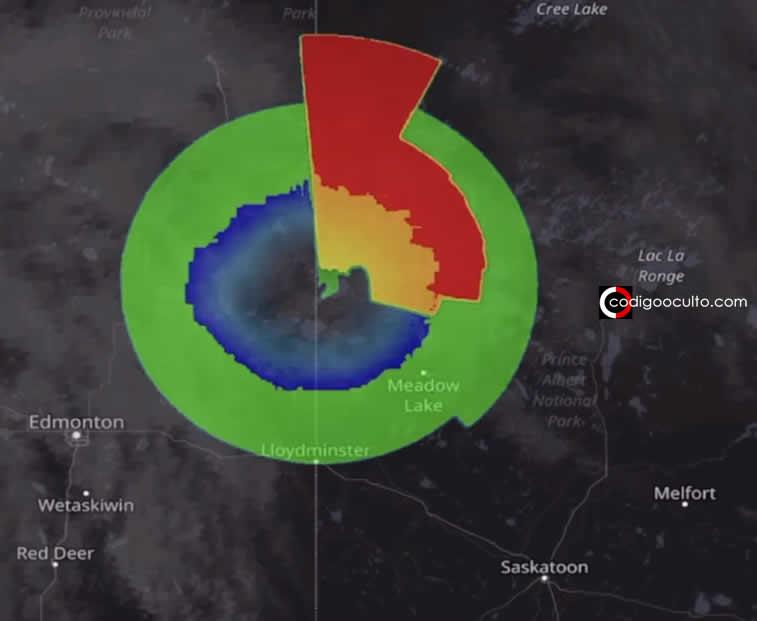 Enorme «Nave Nodriza» de 300 kilómetros sobre Canadá es detectada en radar