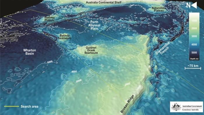 Placa tectónica enorme bajo el Océano Índico se está partiendo en dos