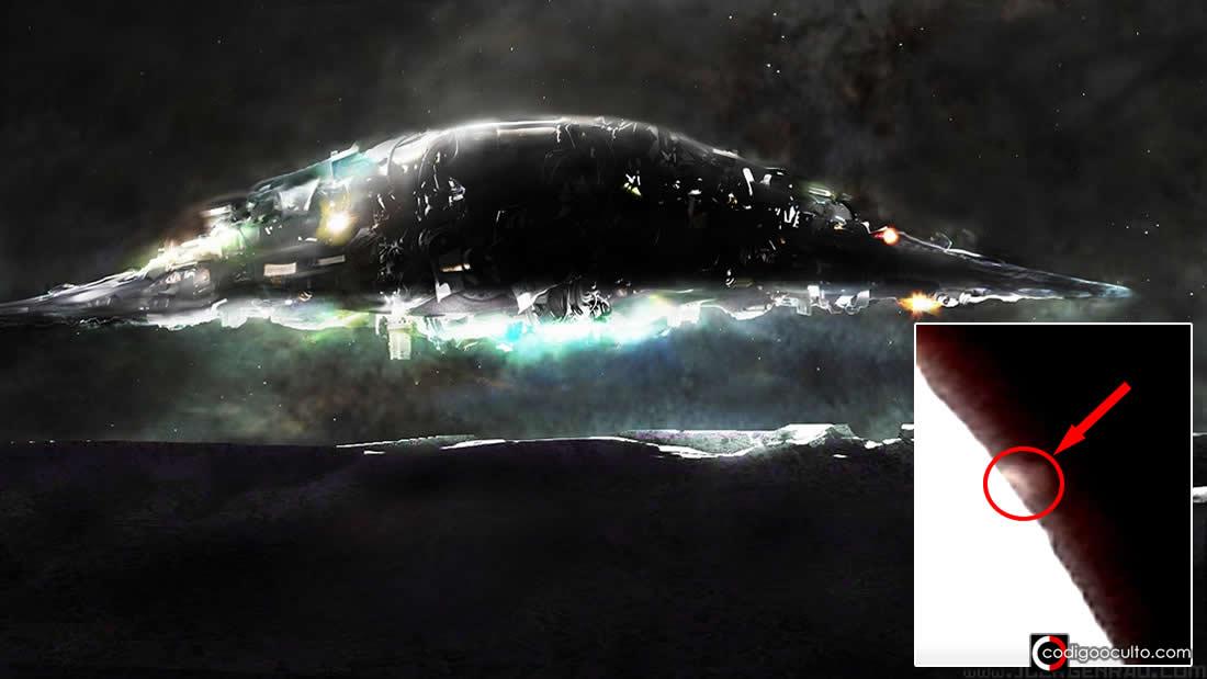 Algo ENORME es grabado «despegando» desde la Luna (VÍDEO)