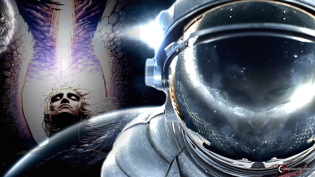 Astronautas rusos tuvieron un encuentro con «ángeles» en el espacio (Vídeo)