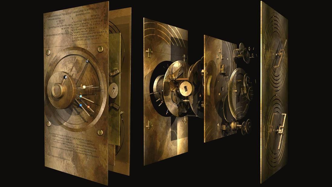 La Computadora del año 87 a.C. encontrada a bordo de un antiguo naufragio griego